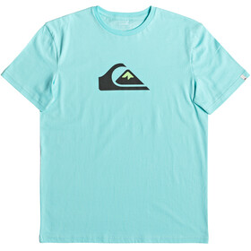 Quiksilver M And W SS Tee Men Aqua Splash